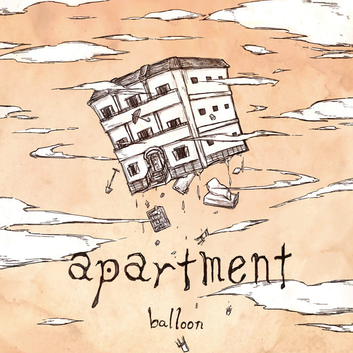 バルーン 1st Album</br>「apartment」