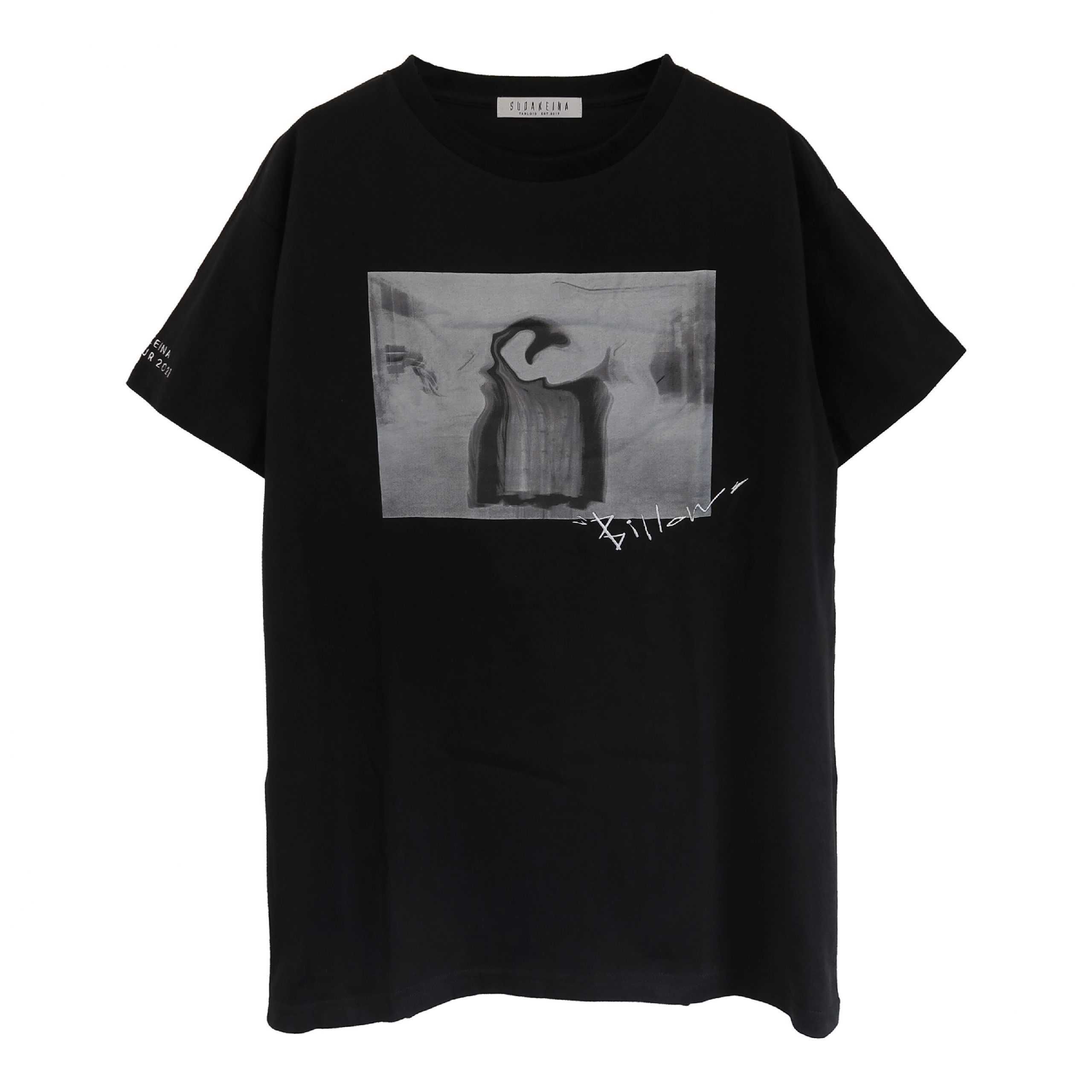 Billow ビッグTシャツ (BLACK)